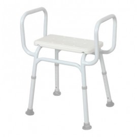 Shower Stool - Aluminium