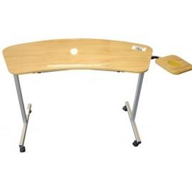 Over armchair table